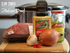 Your family will love this easy Slow Cooker Italian Beef Sandwiches recipe!