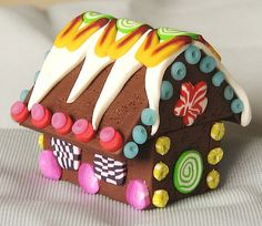 Gingerbread House: Very Colorful & sometimes carries the idea of warmth within a comfortable environment