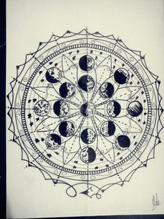 Moon Phases by AlehLopes.deviantart.com on @deviantART would make an awesome tattoo