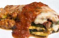 Zucchini Lasagna with Chef John's Tomato Basil Masterpiece Sauce