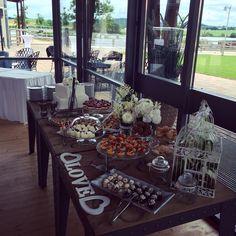 sweet table - Letní terasa