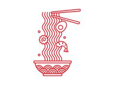 dummy-kanji — graphicdesignblg:   Ramen Illustration by Sindy...