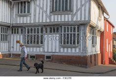 Hall House, Medieval, Street View, Frame, Picture Frame, Mid Century, A Frame, Middle Ages, Frames
