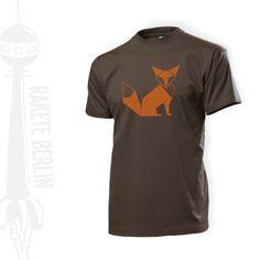 T-Shirt 'Fuchs'  von RaketeBerlin auf DaWanda.com