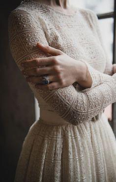Robe de mariée glamour.