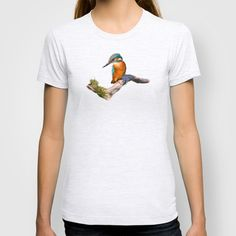 Kingfisher - Alcedo atthis T-shirt