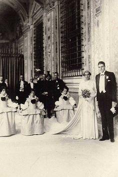Infanta Beatriz of Spain's wedding at the Vatican in 1935