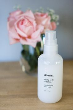 beauty tuesday: glossier milky jelly cleanser review