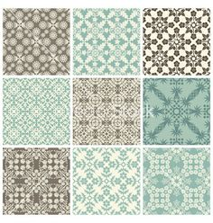 Seamless print patterns vector by vtorous on VectorStock®