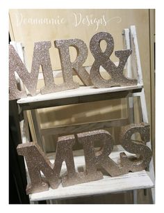 Gold glitter numbers and word signs. Gold Invitations, Gold Glitter, Numbers, Signs, Gold Save The Dates, Shop Signs, Sign