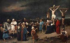 Munkácsy Mihály. Golgota, 1884  olaj , vászon, 460 x 712 cm