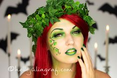 Julia Graf: Halloween Series: Poison Ivy