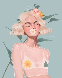 An illustrator who's passion is to create beautiful imagery inspired by fashion & beauty.