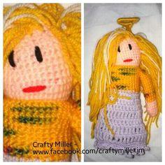 Tree Angel, Crochet Hats, Crafty, Christmas, How To Make, Top, Handmade, Beautiful, Knitting Hats