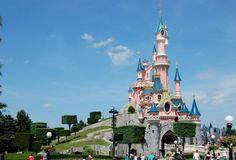 I think the most incredible Disney castle is Le Château de la Belle au Bois Dormant (The Castle of the Beauty Sleeping in the Wood) at Disneyland Park, Paris