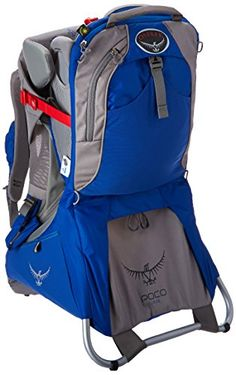 Osprey Packs Poco - Plus Child Carrier Model) (Bouncing Blue, One Size)