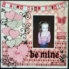 valentines page  My Minds Eye ⊱✿-✿⊰ Follow the Scrapbook Pages board & visit GrannyEnchanted.Com for thousands of digital scrapbook freebies. ⊱✿-✿⊰