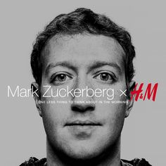 The anticipated collaboration between Mark Zuckerberg and H&M is here. #markforhm