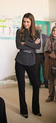 sept. 15, 2014... ♔♛Queen Rania of Jordan♔♛..