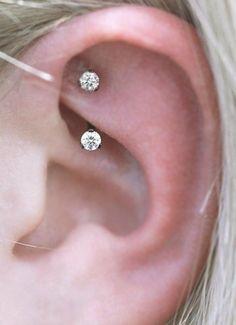 Simple Rook Jewelry Cute Ear Piercing Ideas for Teens Cute Curved Barbell Ea. - Simple Rook Jewelry Cute Ear Piercing Ideas for Teens Cute Curved Barbell Earring – ideas de - Piercing Eyebrow, Piercing Conch, Ear Piercings Rook, Eyebrow Ring, Tragus, Snug Piercing, Peircings, Tongue Piercings, Barbell Earrings