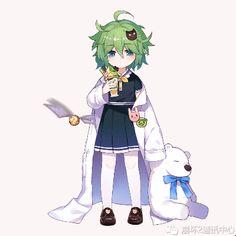 Kawaii Art, Kawaii Anime Girl, Bear Gif, Black Girl Cartoon, Female Character Design, Anime Life, Anime Artwork, Anime Outfits, Female Characters