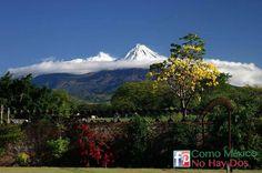 El Nevado de #Colima   Es el volcán más activo que tiene #México actualmente...