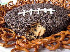 Crazy for Crust: Peanut Butter Football Dip