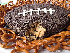 Crazy for Crust: Peanut Butter Football Dip