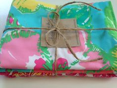 Lilly Pulitzer Burpcloths (2) , Ready to Ship! by BabyStitchBoutique on Etsy https://www.etsy.com/listing/236950874/lilly-pulitzer-burpcloths-2-ready-to