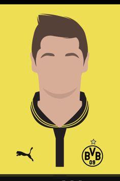Lewandowski bvb! Dortmund!