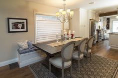 The chandelier from this space I love the look of up lose from Thomas and Christine S4:E20 Property Brothers