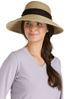 Coolibar UPF 50+ Women's Tropicana Sun Hat.