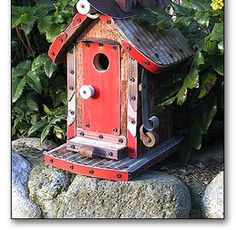 Old School Birdhouses • FOWL PLACES