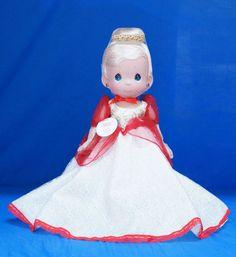 Cinderella Disney Christmas Treasure Precious Moments Doll Signed 4840 #PreciousMoments