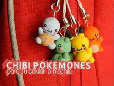 Eeveelutions - Pokemon: Polymer Clay Charms tutorial YouTube