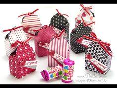 SpringWatch 2015 Envelope Punch Board Love Hearts Box Tutorial | Stampin' Up! UK #1 Demonstrator Sam Donald