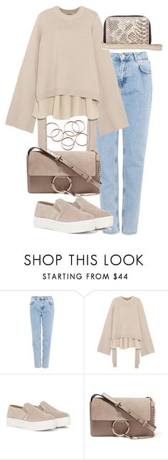 """""""Untitled #2894"""" by theeuropeancloset on Polyvore featuring Pull&Bear, TIBI, Steve Madden and Chloé"""