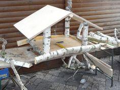 vogelfutterhaus bauen garten pinterest vogelfutterhaus bauen vogelfutterh uschen und. Black Bedroom Furniture Sets. Home Design Ideas