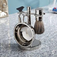Trifecta Chrome Shaving Kit - $70