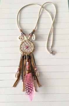 HOW GORGEOUS AND EVER SO UNUSUAL! - WHEN ONE IS NOT WEARING THIS, ONE COUKD EASILY HANG IT UP IN FRONT OF A WINDOW, OUI !!