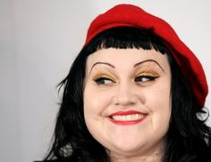 Beth Ditto, singer of the band Gossip (1981).