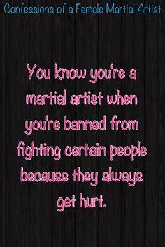 Martial arts confessions