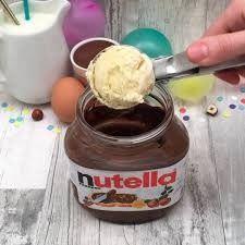 7 idées à faire avec le pot de Nutella ® Delicious Desserts, Yummy Food, Tasty, Baking Recipes, Dessert Recipes, Creative Food, Food Videos, Love Food, Sweet Recipes