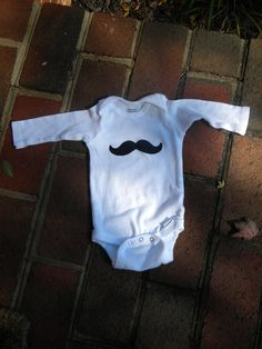 Hey, I found this really awesome Etsy listing at http://www.etsy.com/listing/90403009/baby-boy-mustache-onsie-3-6-mon-6-9-mon