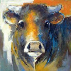 Fotoalbum - Limousin koeien | Maria de Vries Kunstenares