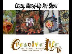 Creative Life TV - Crazy Mixed Up Art