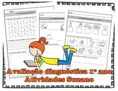 Avaliação diagnóstica 1º ano - Atividades Adriana