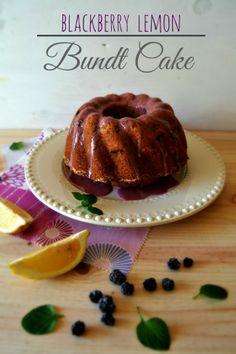 Sweet Gula: Blackberry Lemon Bundt Cake