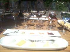 Kendall Jackson Estate's amazing Sonoma County Cheese & Wine Pairing.