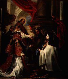 """Fue Beatificada el 24 de abril de 1614 y fue canonizada el 12 de marzo de 1622.  Pablo VI la nombró el 18 de septiembre de 1965 """"patrona principal de los escritores católicos de España"""". El mismo Papa Montini el 27 de septiembre de 1970 la declaró primera doctora –mujer- de la Iglesia."""